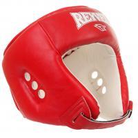 Шлем боксерский Reyvel красный