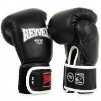 Перчатки боксерские Reyvel 10 унций черные