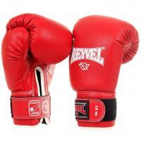 Перчатки боксерские Reyvel 12 унций красные