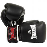 Перчатки боксерские Reyvel 12 унций черные