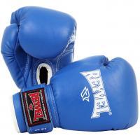 Перчатки боксерские Reyvel 8 унций синие