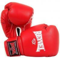 Перчатки боксерские Reyvel 8 унций красные