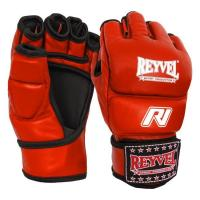 Перчатки M1 Reyvel (MMA, Mixfight) красные