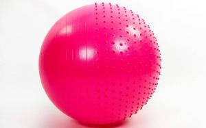 Мяч для фитнеса полумассажный 65 см