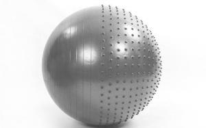 Мяч для фитнеса полумассажный 85 см