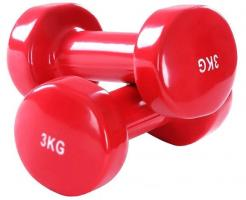 Гантели виниловые 3 кг