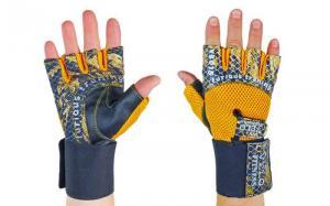 Перчатки для фитнеса Velo с напульсником